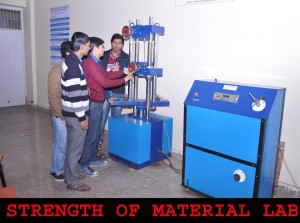 STRENGTH OF MATERIAL LAB